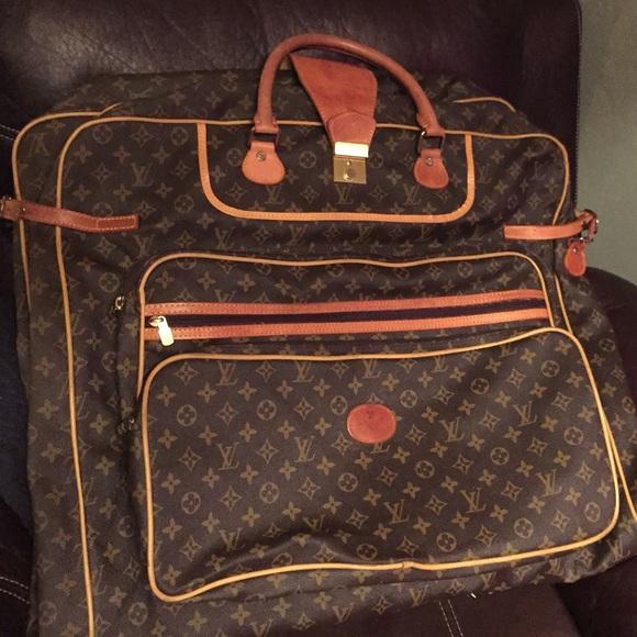 56798fc54aee Louis Vuitton Handbags - 1970s Vintage Louis Vuitton garment bag